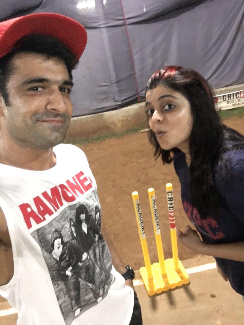 Eijaz Khan And Nivedita Basu