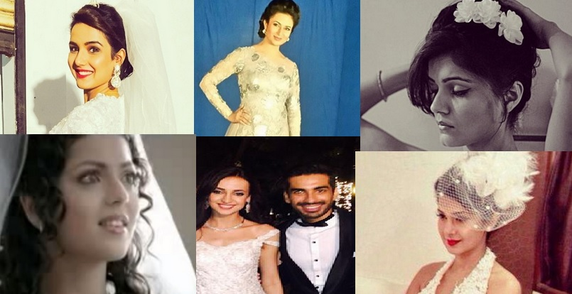8 Telly Actresses Who Rocked In Christian Bridal Dress – PHOTOS