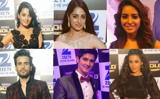 Television Actors On The Gold Awards 2016 Red Carpet