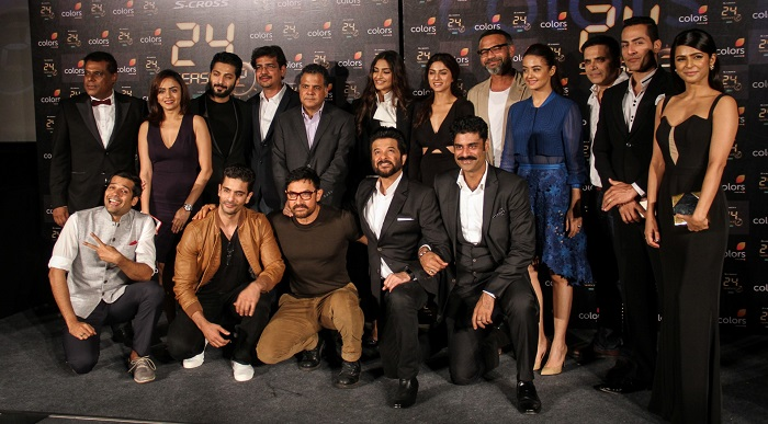 Team Of 24 With Colors CEO Raj Nayak