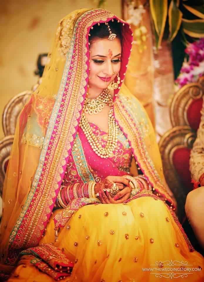 Divyanka Tripathi And Vivek Dahiya S First Wedding