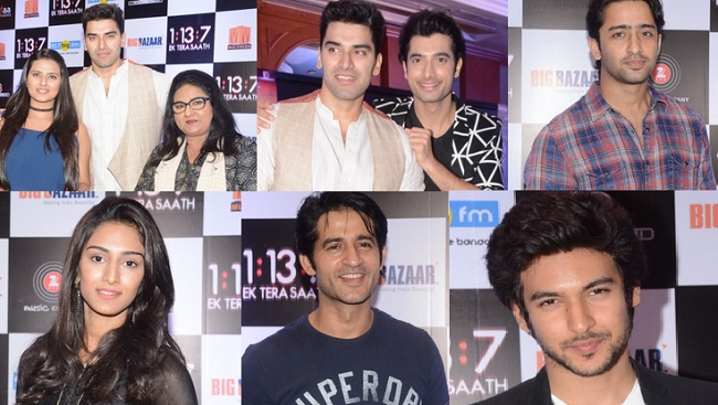 TV Actors At Ssharad Malhotra's Film's Trailer Launch