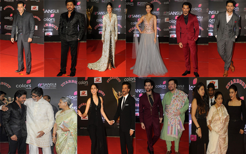 Stardust Awards 2016 – The Best Dressed Celebs At The Red Carpet – IN PICS