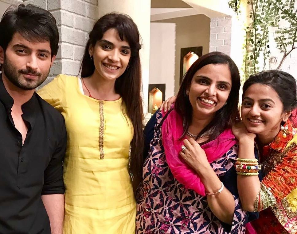 Sonali Jaffar With Helly Shah, Mudit Nayar And Anjum Fakih