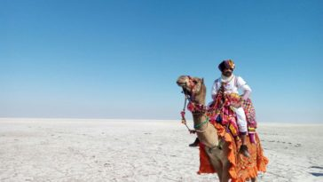 Eijaz Khan In Rann Of Kutch