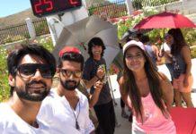 Karan Wahi In Spain With Nia Sharma Ravi Dubey Shantanu Maheshwari