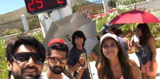 Karan Wahi In Spain With Nia Sharma Ravi Dubey Shantanu Maheshwari