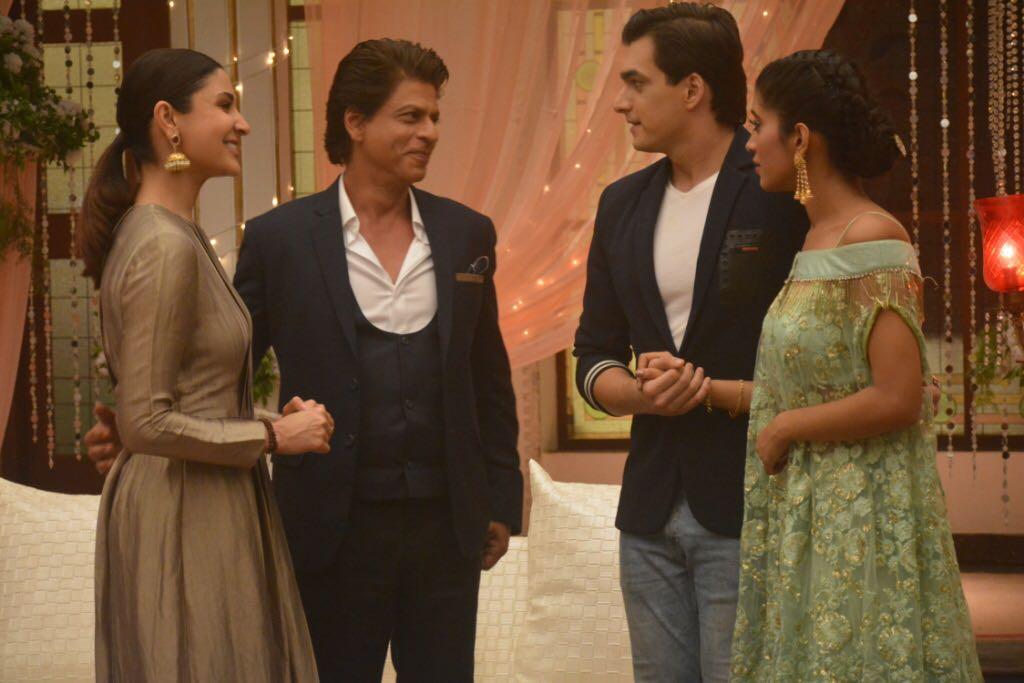 Shah Rukh Khan, Anushka Sharma, Mohsin Khan And Shivangi Joshi