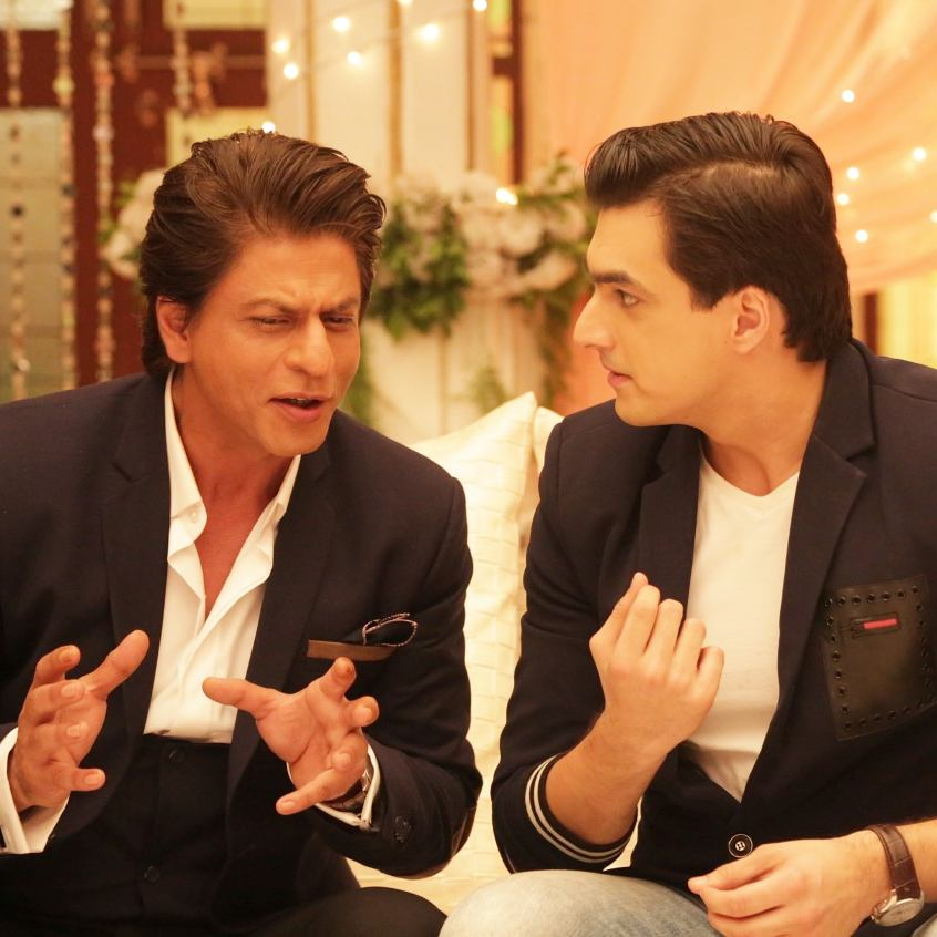 Mohsin Khan And Shah Rukh Khan