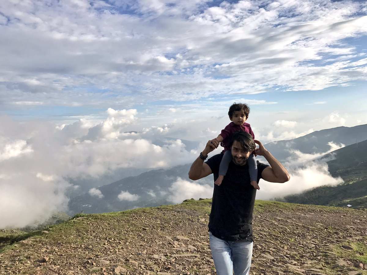 Shaheer Sheikh With His Nephew