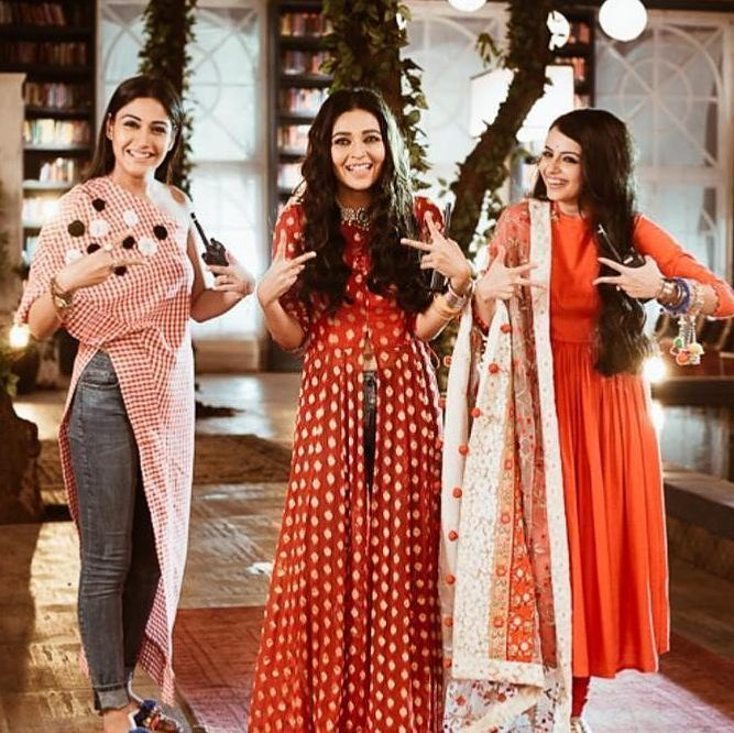 Surbhi Chandna, Mansi Srivastava And Shrenu Parikh