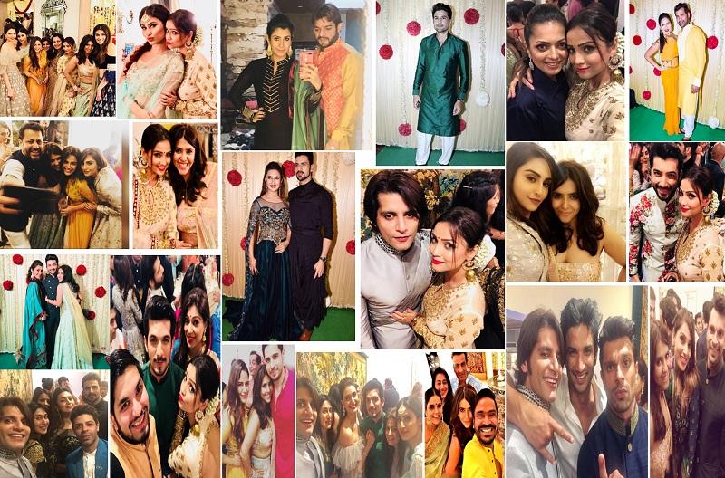 Ekta Kapoor's Diwali Party : TV Celebs Attend The Grandest Diwali Bash Of 2017 – IN PICS