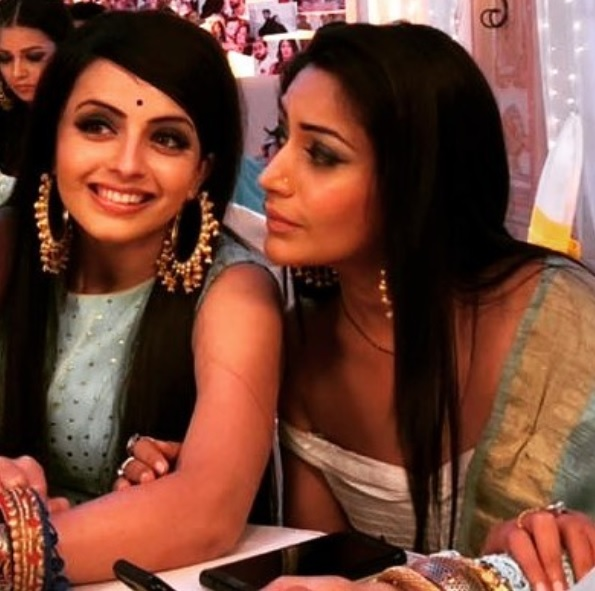Shrenu Parikh And Surbhi Chandna