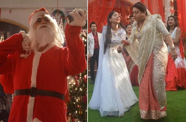 Yeh Rishta Kya Kehlata Hai Christmas Celebrations – Kartik Becomes Santa ; Daadi Throws Naira Out! – SPOILER PICS