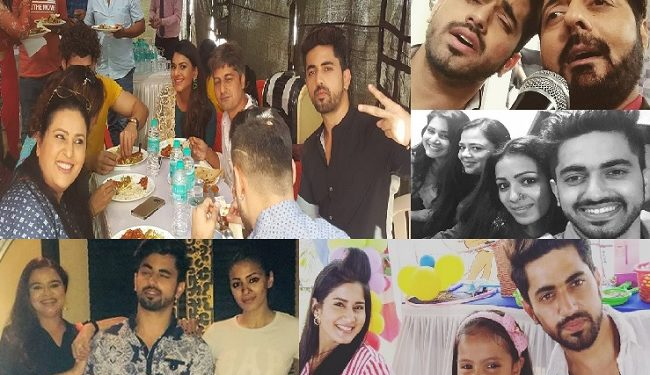 Spot The Lesser Seen Pictures Of Zain Imam With Naamkarann
