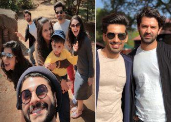 Barun Sobti, Sanaya Irani, Mohit Sehgal, Dalljiet Kaur, Gautam Hegde Vacationing At Mahabaleshwar – IN PICS