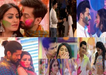 TV Jodis And The 7 Best Holi Celebration Scenes Of 2018!