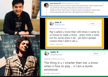 In An Open Dispute! – Kapil Sharma And Sunil Grover's Verbal Argument On Twitter!