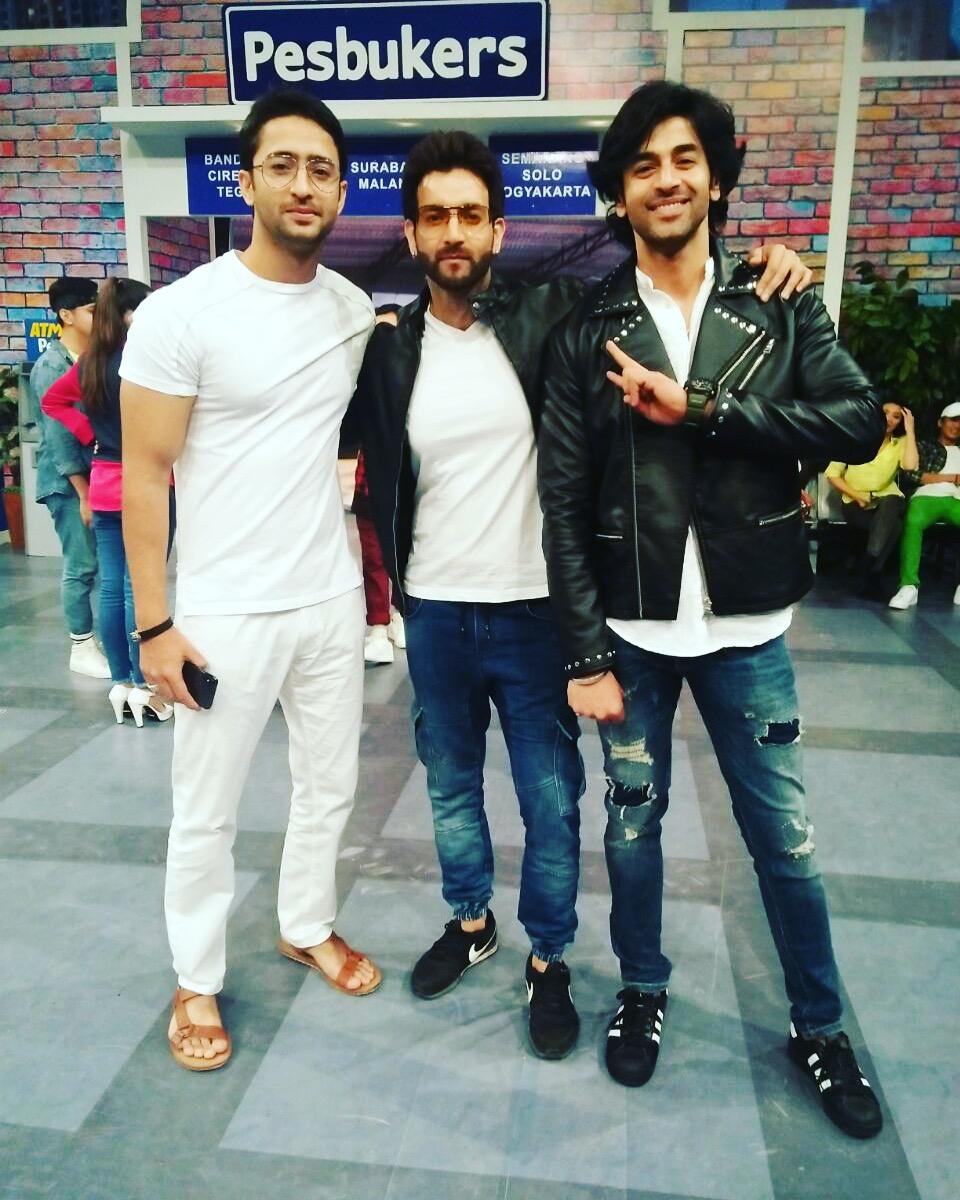 Shashank Vyas, Vineet Raina, Shaheer Sheikh