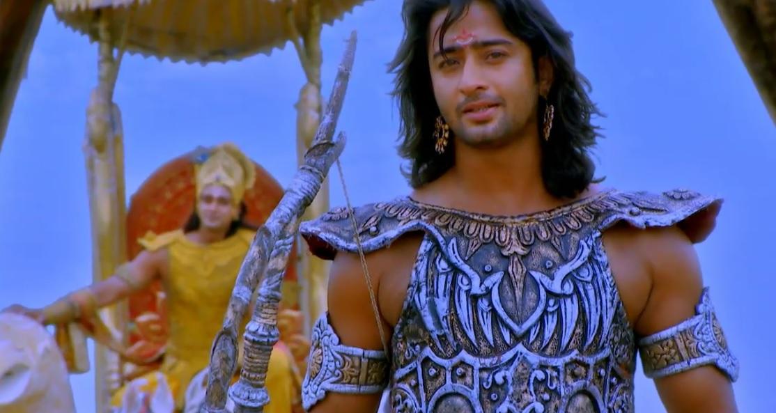 Shaheer Sheikh In Mahabharat