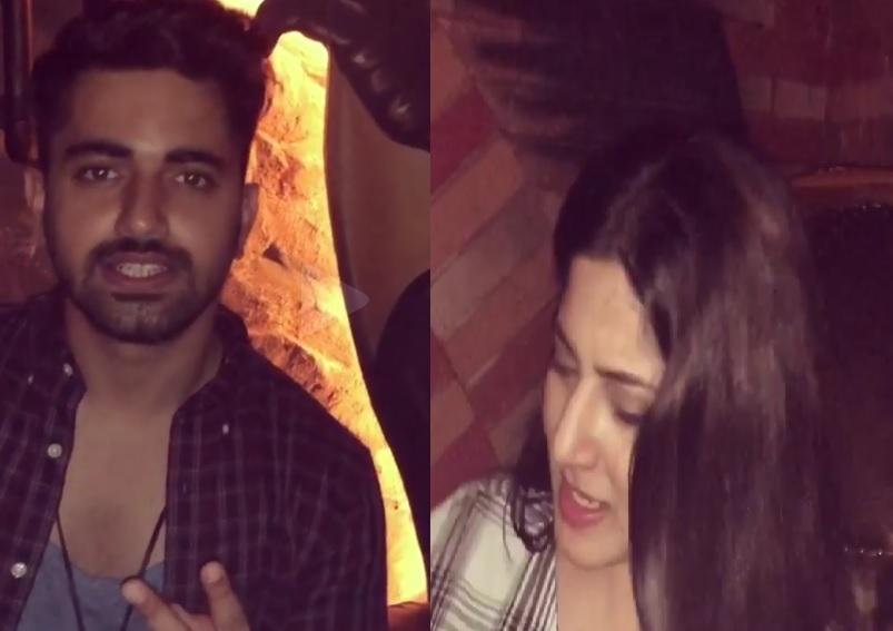 Zain Imam And Aditi Rathore