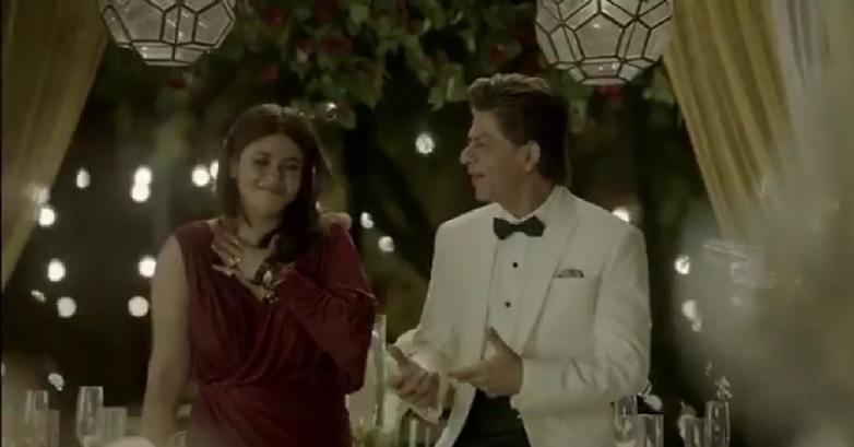 Ekta Kapoor And Shah Rukh Khan
