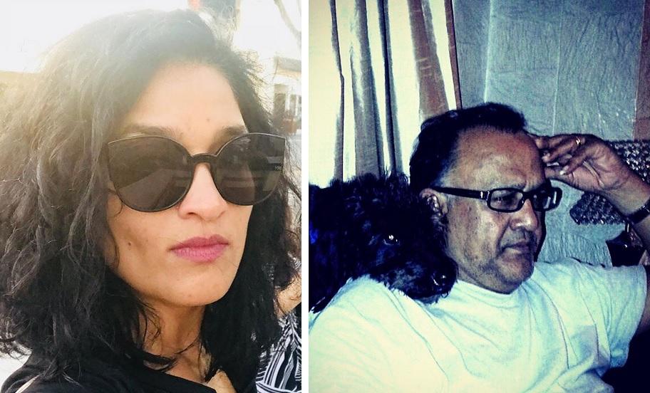 Sandhya Mridul (Left) And Alok Nath (Right)