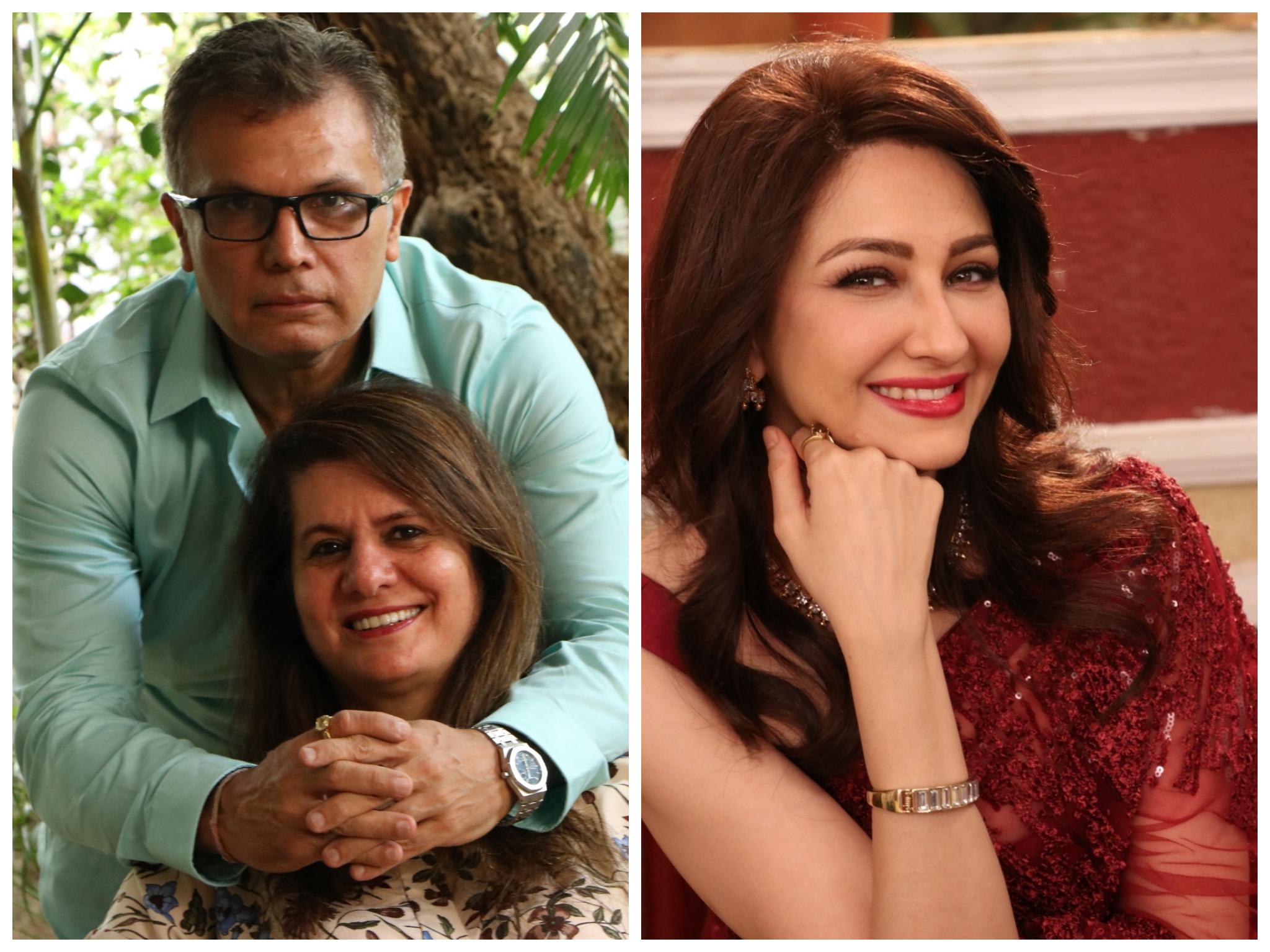 Sanjay and Beniferr Kohli And Saumya Tandon
