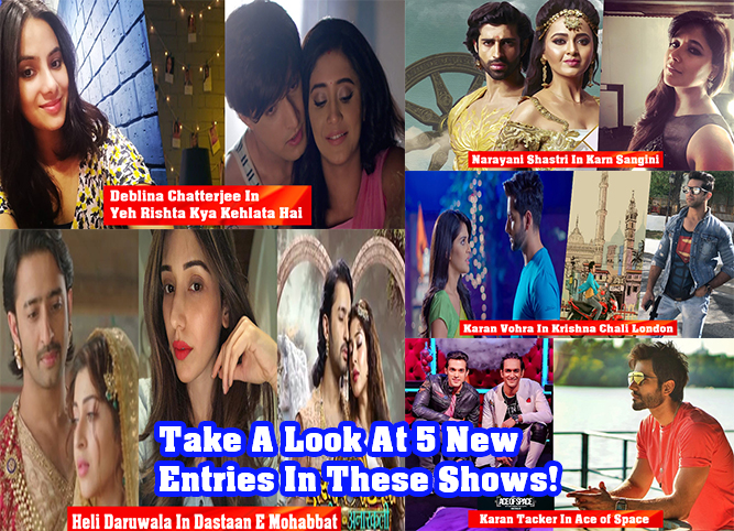 Take A Look At 5 New Entries In These Shows