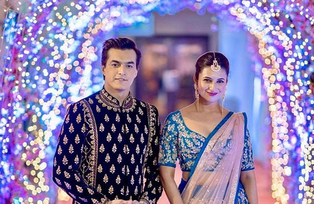 Divyanka Tripathi And Mohsin Khan