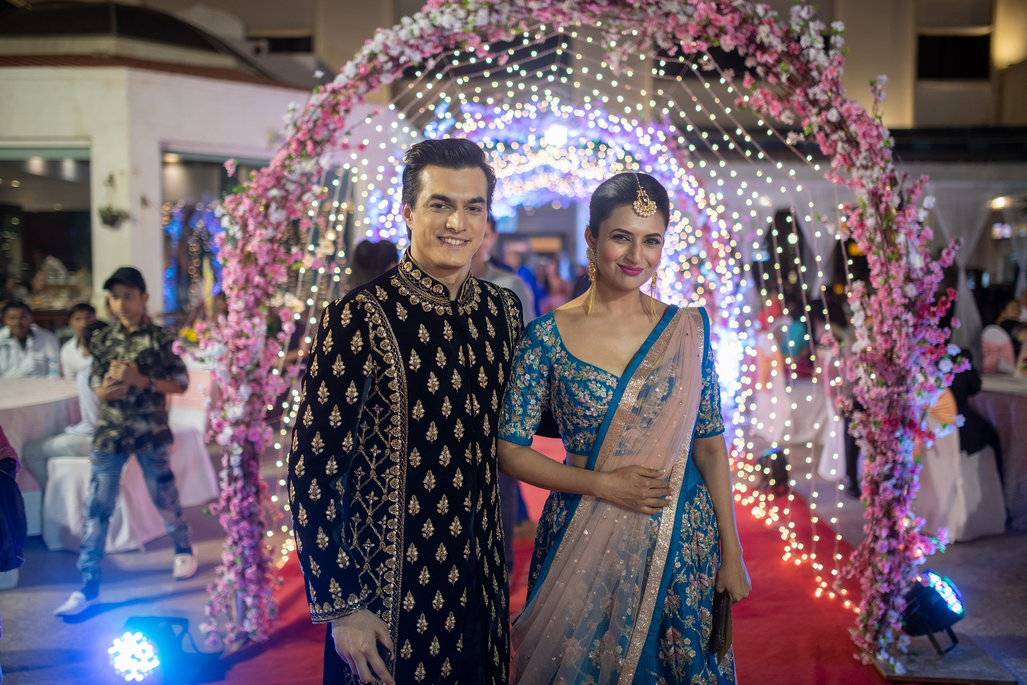 Mohsin Khan And Divyanka Tripathi