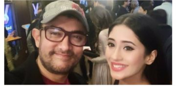 Shivangi Joshi And Aamir Khan