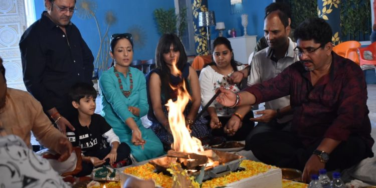 Hawan On Set