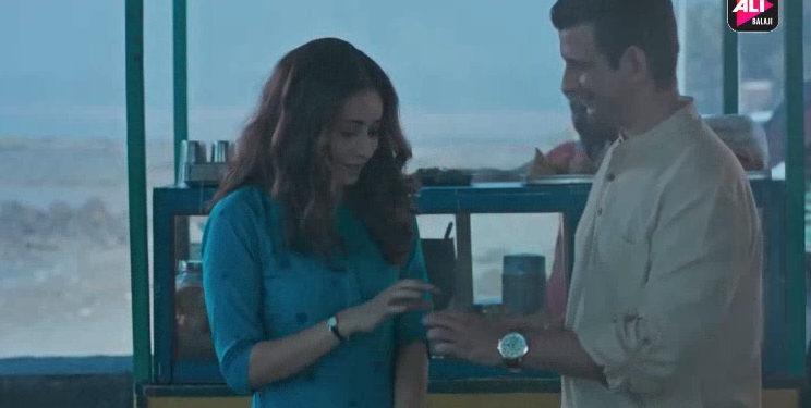Ashi Negi and Sharman Joshi starring in Baarish / courtesy ALTBalaji