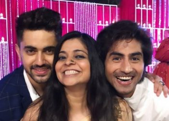 Zain Imam, Nivedita Basu And Harshad Chopda