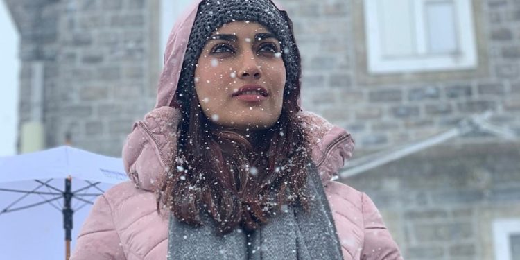 Surbhi Jyoti In Switzerland
