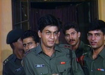 Shahrukh Khan In Fauji
