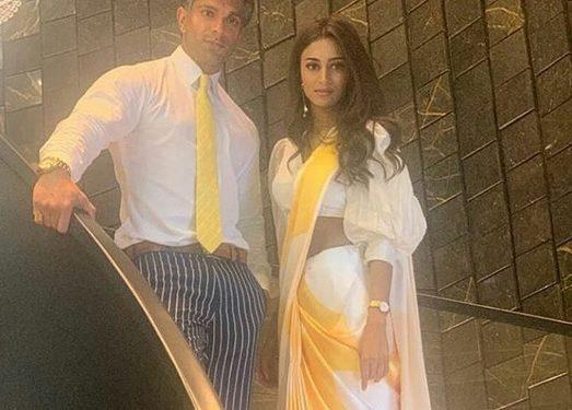 Karan Singh Grover and Erica Fernandes