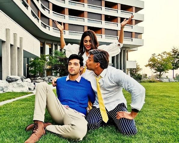 Erica Fernandes, Parth Samthaan And Karan Singh Grover