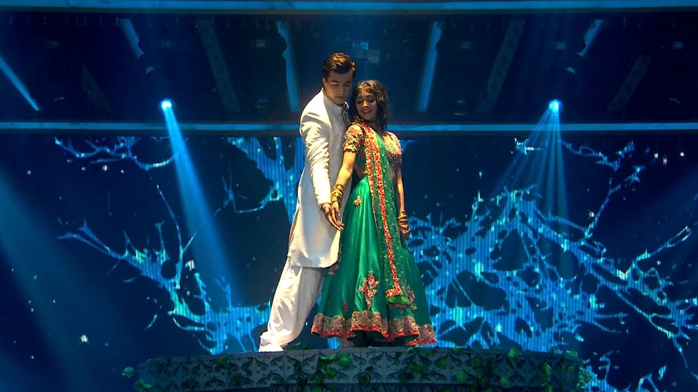 Mohsin Khan And Shivangi Joshi In Nach Baliye 9