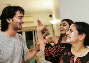 Shaheer Sheikh, Erica Fernandes And Supriya Pilgaonkar