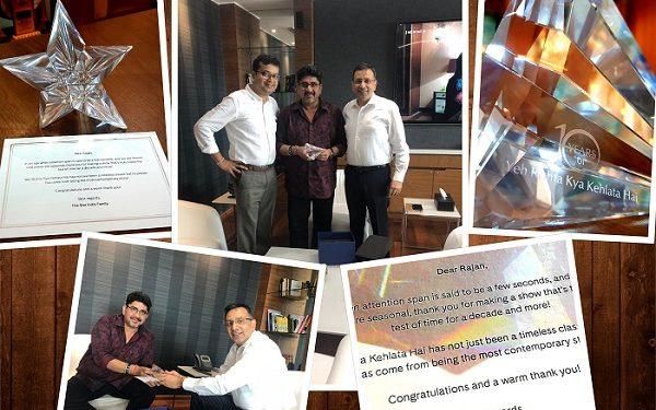 Rajan Shahi Receives Appreciation From Star Plus For Yeh Rishta Kya Kehlata Hai