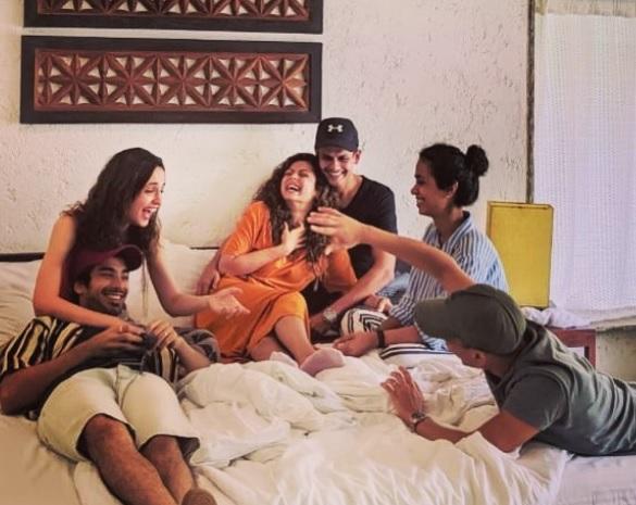 Sanaya Irani With Mohit Sehgal And Drashti Dhami With Neeraj Khemka