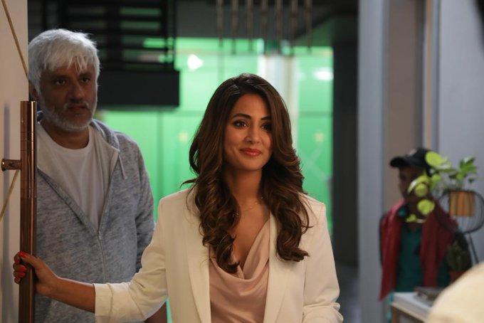 Hina Khan And Vikram Bhatt In Hacked