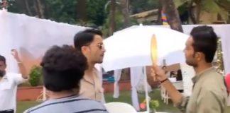 Shaheer Sheikh On The Sets Of Yeh Rishtey Hain Pyaar Ke