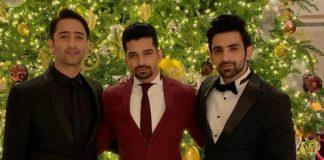 Shaheer Sheikh, Arijit Taneja And Vishal Singh