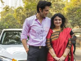 Parth Samthaan And His Mother