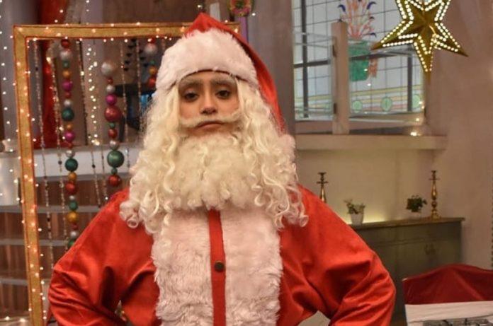 Shivangi Joshi As Santa Claus In Yeh Rishta Kya Kehlata Hai