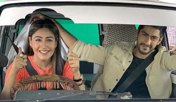 Surbhi Chandna And Namit Khanna In Sanjivani