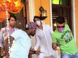 Shaheer Sheikh And Ritvik Arora In Yeh Rishtey Hain Pyaar Ke Sets